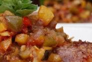Kaldeneker grill: Faszénparázson sült hátszín fűszeres zöldséglekvárral - videórecept