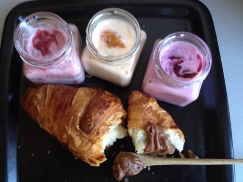 reggeli joghurttal