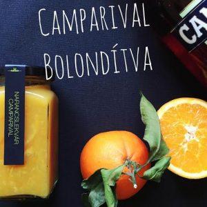 Narancslekvár Camparival