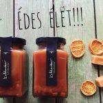 Narancsos karamellkrém