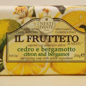 Natúr szappan - citrom-bergamot