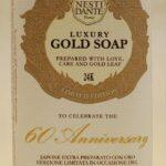 Natúr szappan – 24 karátos arannyal