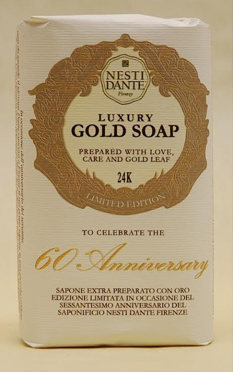 Natúr szappan - 24 karátos arannyal