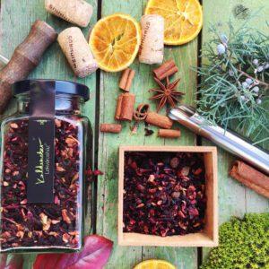 Fahéjas szilva tea