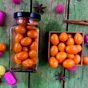 Narancsos mandulaszemek