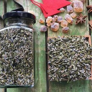 Levendulás zöld tea keverék