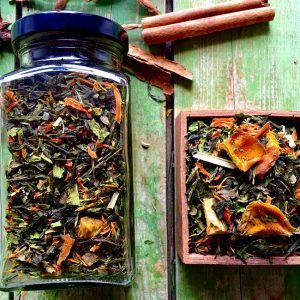 Mangó-kender zöld tea keverék